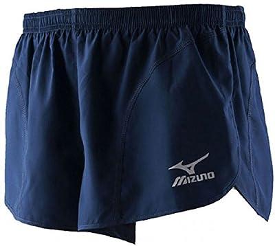 Mizuno Woven Solid Mens Running Shorts - Blue