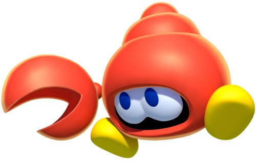 Furuta Choco Egg~new Super Mario Bros U Figure ~Huckit Crab Figuren figur
