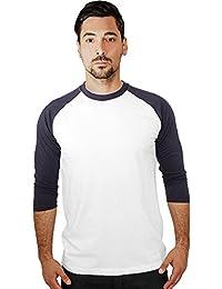 Urban Classics Herren Shirt 3/4-Arm Contrast – verschiedene Farben