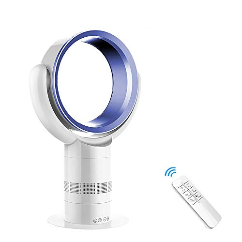 Mobile Klimaanlage mit Fernbedienung | Luftreiniger Ventilator mit HEPA-Filter inkl | 60 cm | 35W | Ventilator mit 10 Geschwindigkeitsstufen + Timer + 3 Betriebsmodi | Leises Betriebsgeräusch