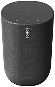 Sonos Move - the durable, battery-powered smart speaker for outdoor and indoor listening
