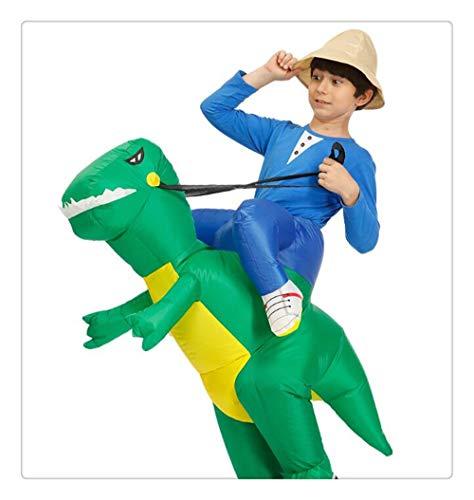 Dinosaurier Kost¨¹m | Halloween Cosplay Kost¨¹me f¨¹r Kinder | Blow Up Kost¨¹m, Einheitsgr??e ()