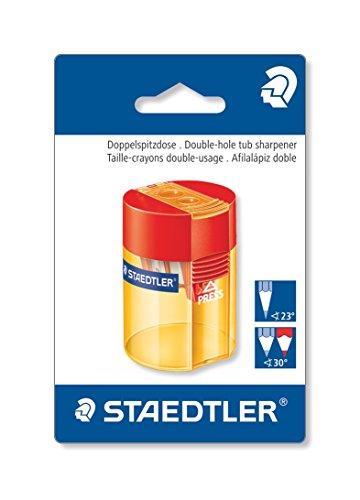 Staedtler 512 006 BK Doppelspitzdose rund (Blisterkarte)
