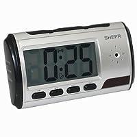 Asone Portable Alarme Horloge Spy Camera DVR avec détection de mouvement