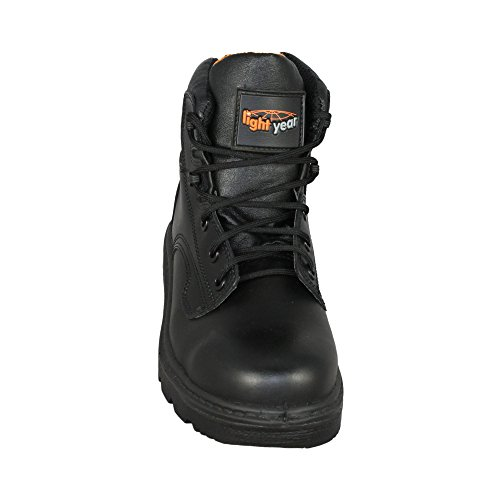 Light Year Chaussures de trekking S2SRC Chaussures de sécurité Loisirs Chaussures Haut Noir Noir - Noir