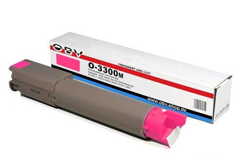 OBV Rebuild Toner magenta für OKI C3300 C3400 C3450 C3530 C3600 -...