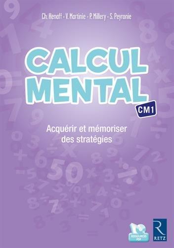Calcul mental CM1 (+ CD-Rom)
