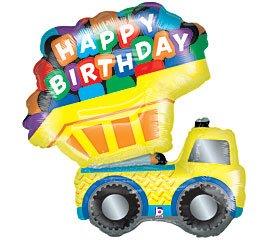 Party-Destination 161267 Dump Truck 42 in. Jumbo Folienballon
