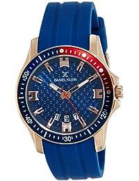 Daniel Klein Analog Blue Dial Men's Watch-DK11935-4