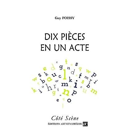Dix pièces en un acte (Côté Scène)