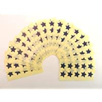 180 Labels, 15mm Stars, Navy Blue, Colour Code Stickers, Self-Adhesive Sticky Coloured Labels