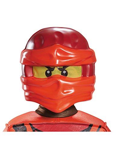 o Maske für Kinder von Lego (Lego Ninjago Kostüme Kai)