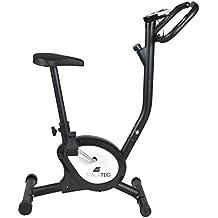 Mecánico Estacionario Bicicleta Ejercicio Entrenamiento Deporte Fitness Salud Colores: Negro Blanco, Farbe / Color:Schwarz / black