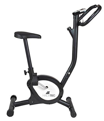 Heimtrainer Ergometer Fahrradtrainer Fahrrad Bike Fitness Fitnessbike #2395, Farbe:Schwarz