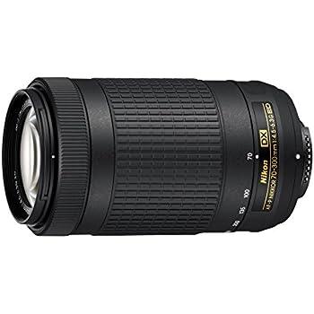 Nikon JAA828DA - Objetivo para cámara réflex AF-P DX 70-300 F/4.5 ...