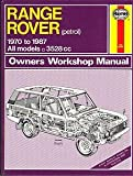 Range Rover Owner's Workshop Manual