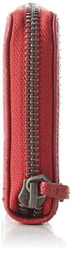 Liebeskind Berlin - Sallyr Lgrain, Portafogli Donna Rosso (Rot (cherry blossom red 3532))