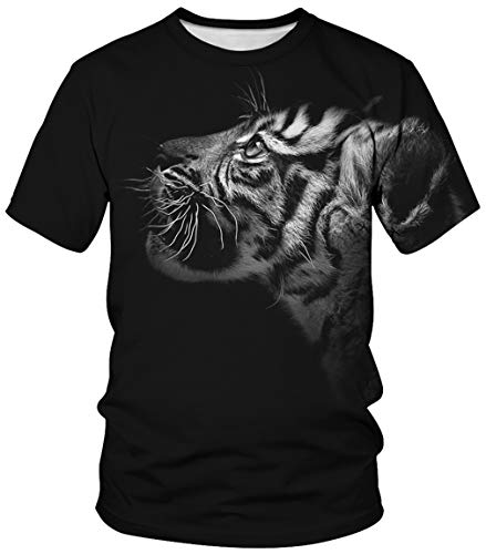 Plus Nero Asciugatura T Maglietta Shirt Corta Unisex Buco Ocean Quantistico Partnerlook Rapida Girocollo Tops Manica Uomo Sport Stampa Colorato 0mnNOwv8