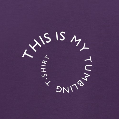 Dies ist mein Stolper T Shirt - Herren T-Shirt - 13 Farben Lila