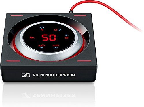 Sennheiser-GSX-1200-Pro-Amplificador-de-audio-para-videojuegos-color-negro-y-rojo