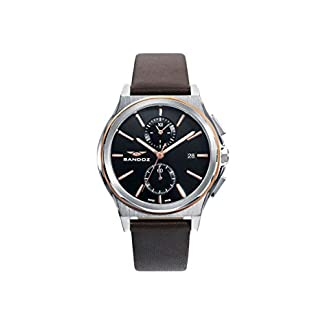 Sandoz – Crono Reloj Acero IP Rosa Correa Sr Sa – 81485-57