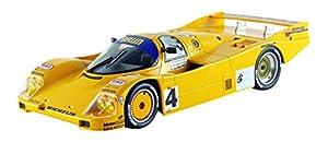 Norev-187403-Porsche 962C-Le Mans 1988-Escala 1/18-Amarillo/Azul