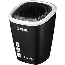 Duronic SPB2 /WE Altavoz + Bass Inalámbrico Portátil - Manos Libres + Microfono – Bluetooth + Puerto AUX
