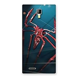 Premium Climbing Spider Multicolor Back Case Cover for Micromax Canvas Xpress A99