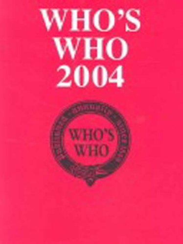 Who'S Who 2004