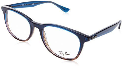 Ray-Ban Unisex-Erwachsene 0RX 5356 5765 52 Brillengestelle, Blau (Gradient Blue On Spped Grey),