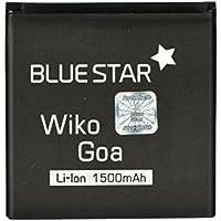 Blue Star Premium - Batería de Li-Ion litio 1500 mAh para Wiko Goa