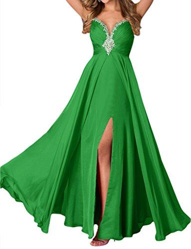 Missdressy -  Vestito  - linea ad a - Donna Verde