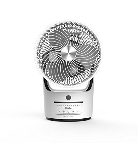 fakir klimageraet Fakir Tischventilator prestige | TVC 360, 3 Geschwindigkeitsstufen, 360 Grad Ventilation, weiß/schwarz
