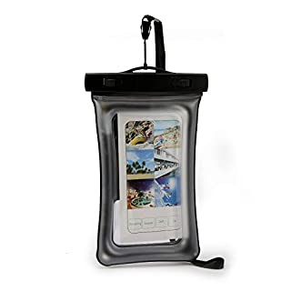 LG Aristo 2 -Waterproof IPX8 Floating Phone Dry Bag Pouch & Water Detection Leakage Sensor. Compatible With Other Phones up to 6.5