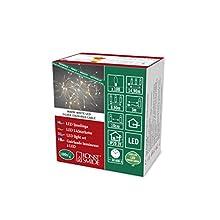 Konstsmide 6387-190 Guirlande Lumineuse à LED Effet Gouttes, Plastique/, 2 W, Blanc, 1490 x 1 x 1 cm