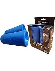 Fat Gripz - Mangos para barras de musculación (5,7 cm de diámetro), color azul