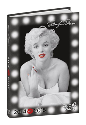Quo Vadis Daily Academic Diary Marilyn Monroe Lights Design 2014-2015 Year [French Language]