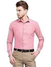 STOP to start STOP by Shoppers Stop Mens Slim Collar Slub Shirt