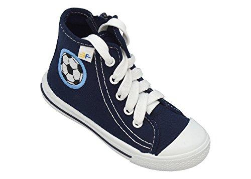 3f freedom for feet Kinder Freizeitschuhe Outdoor Turnschuhe Schulschuhe für Jungen - Leicht - Kindergarten Schuhe mit Klettverschluss oder Schnürschuhe bis 3-5 Jahre (26, Schnürschuhe 3SP40/4)