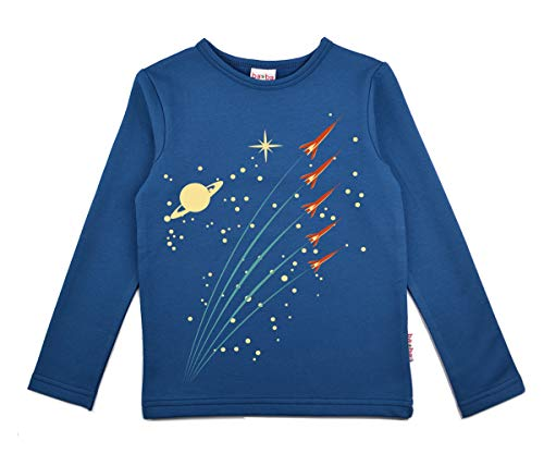 Baba Boy Shirt Langarmshirt Blue 128
