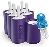 Zoku ZK124Space Ice Lolly Mould Ice Pops Mould, Set of 6, Ice Cream, Ice Cream Maker,