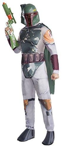 Rubie's Offizielles Star Wars Boba Fett Kostüm, Klassik, für Erwachsene,Gr. XL