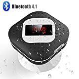 AGPTEK Bluetooth 4.1 Duschradio mit LED Digitalem Bildschirm