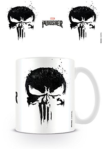 The Punisher La Calavera de el Castigador Taza de café,...