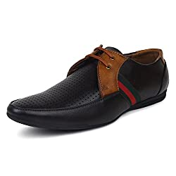 Adreno Mens Brown Pedro Formal Shoes [ADRPEDRO] - 6 UK/IND