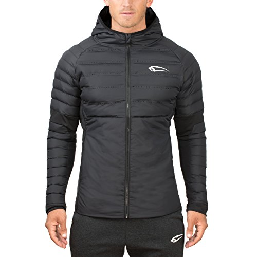SMILODOX Premium Padding Jacket   Slim Fit Winterjacke für Herren   Wärmeisolierende & Atmungsaktive Steppjacke ideal für Sport & Outdoor - THERMOSPHERE