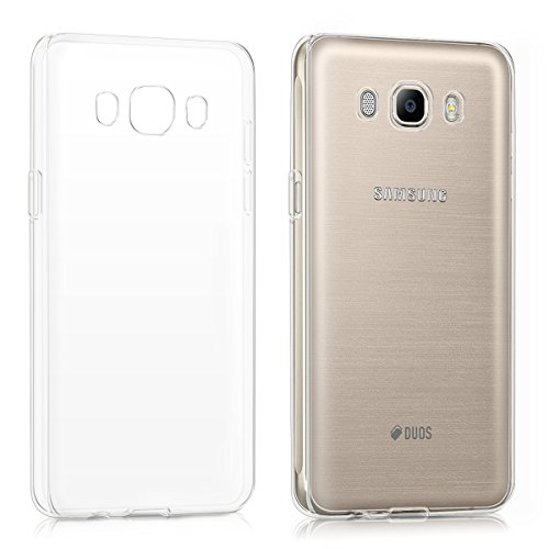 kwmobile Samsung Galaxy J5 (2016) DUOS Hülle - Handyhülle für Samsung Galaxy J5 (2016) DUOS - Handy Case in Transparent