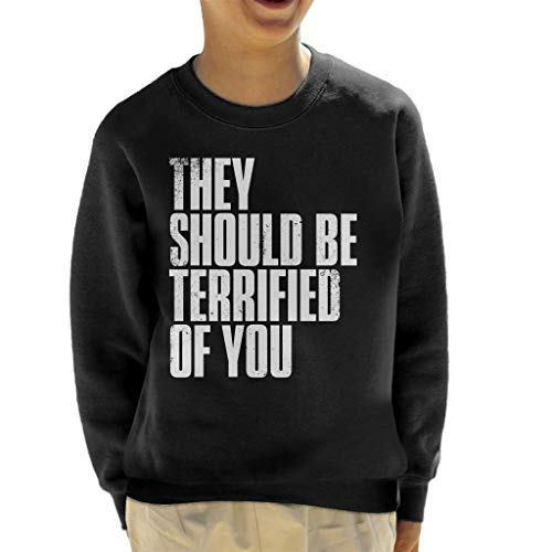 Cloud City 7 The Last of Us II They Should Be Terrified of You Kid's Sweatshirt