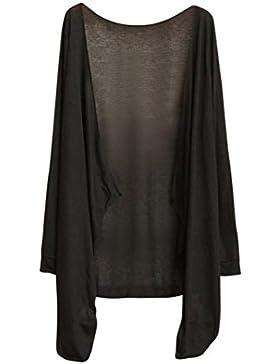 OverDose mujer blusa camiseta finos largos de la protección del sol rebeca ropa tops