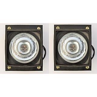 Bajato: Paar Scheinwerfer Lampe mit birnen für Eicher Tractor (Left Rear - Right Rear)